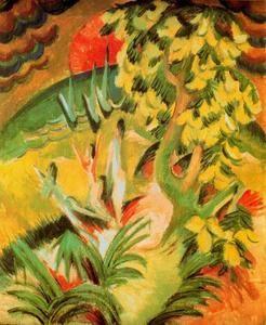 L anse - (Ernst Ludwig Kirchner)