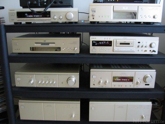 1990's Vintage Modern Sony ES setup.