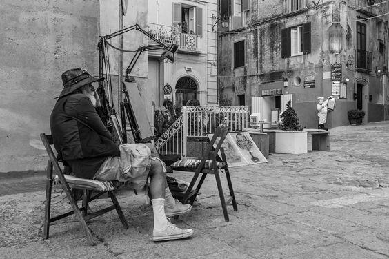 Artisti di strada a Tropea | da Antonio Casti