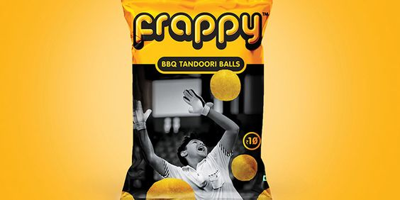 Frappy - Snacks packaging design. Designed by: Lemon Yellow. MORE: http://goo.gl/9D1WK5