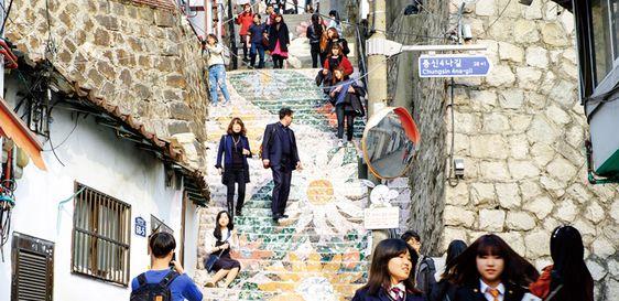 Ihwa – Ngôi làng của những bức tranh tường
