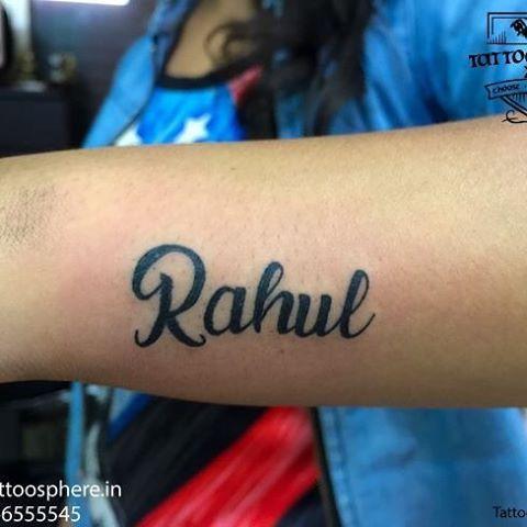 Name Tattoos Only Cute Rahul Name Tattoos Name Tattoo Designs Name Tattoos For Girls Name Tattoo