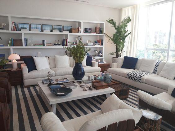 Níveis, materiais e estilos diferentes. Dado Castello Branco - Casa Cor 2014