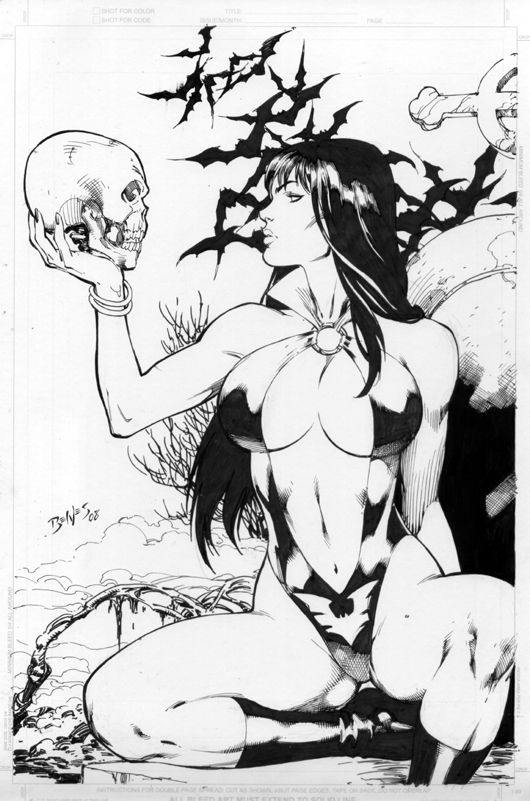 Vampirella by Ed Benes #comics #vampires #vampire