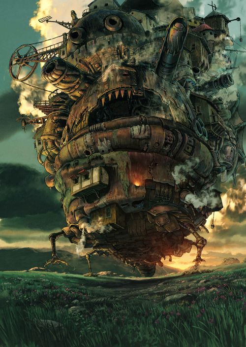 """Howl's Moving Castle"" movie (2004) by Hayao MIYAZAKI, Japan"