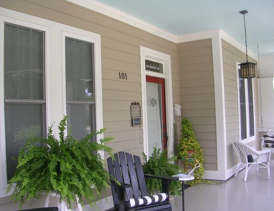 Quot Haint Quot Blue Southern Porch Ceiling River House