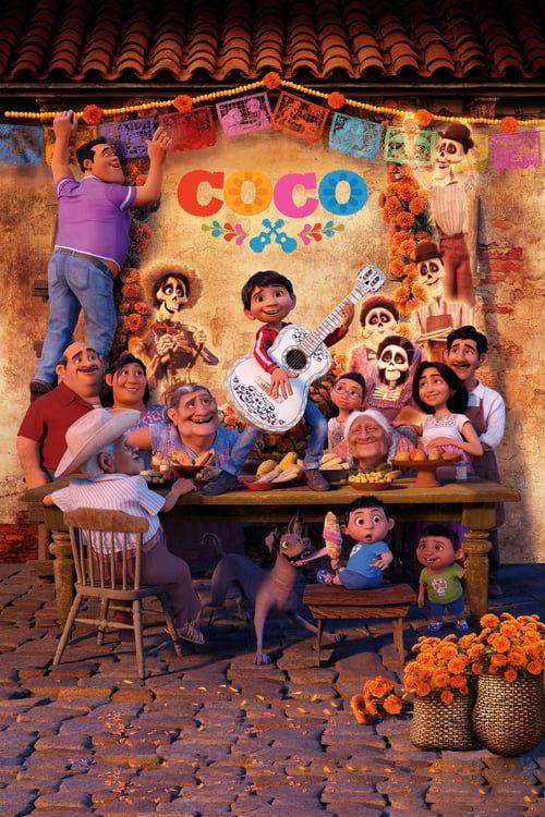 Watch Coco 2017 Full Movie Online Free Disney Pixar Movies Animated Movie Posters Pixar Movies