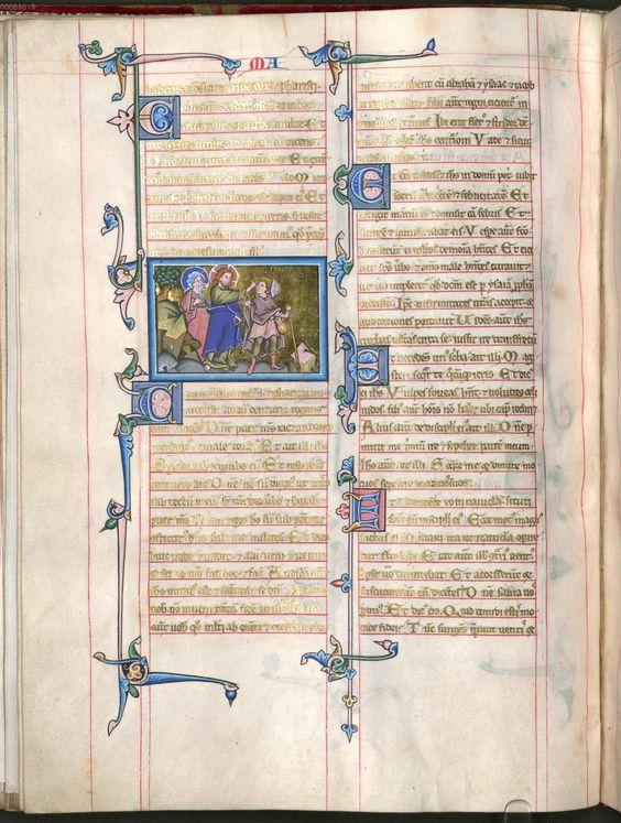 Mainzer Evangeliar /GospelBook 13th century, Germany
