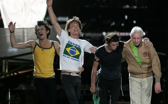 Rolling Stones no Brasil: The Rolling Stones