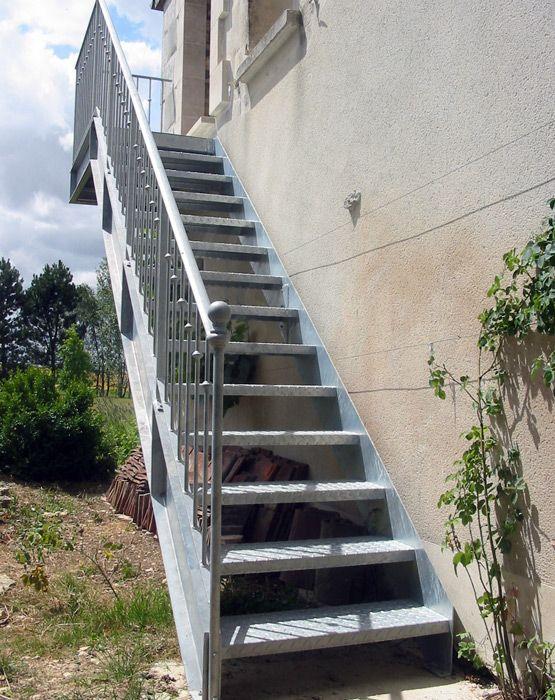 Escalier Metallique Exterieur Occasion