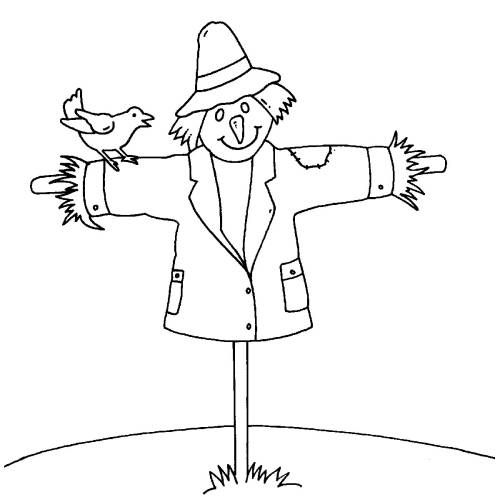 Ausmalbilder Vogelscheuche Ausmalbilder Fur Kinder Malvorlagen Halloween Vorlagen Ausdrucken Vogelscheuche Ausmalbilder