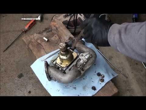 Briggs And Stratton 18 5 Hp V Twin Ohv Intek Engine Carburetor Rebuild Lawn Mower Repair Briggs Stratton Briggs