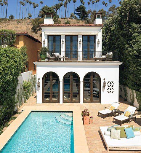 Santa monica california santa monica and california on pinterest - Architectural digest modular home designs ...