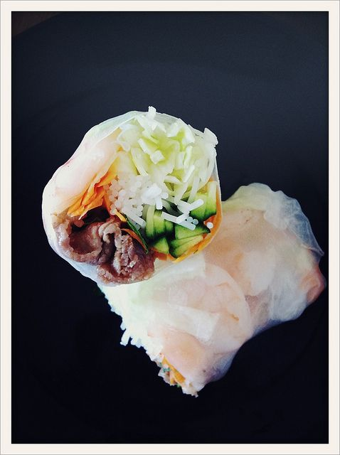 Vietnamese spring rolls, Winter sale and Spring on Pinterest