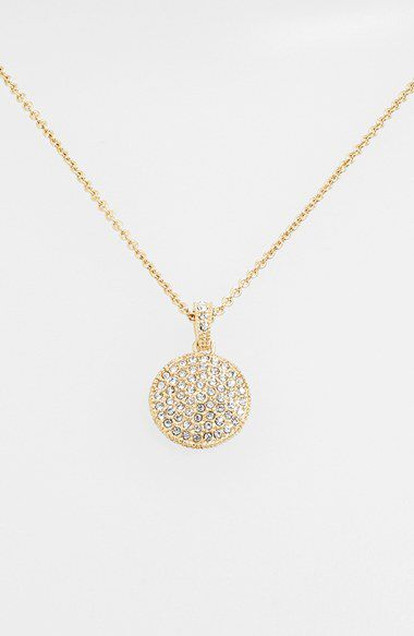Judith Jack Judith Jack Reversible Pavé Pendant Necklace available at #Nordstrom