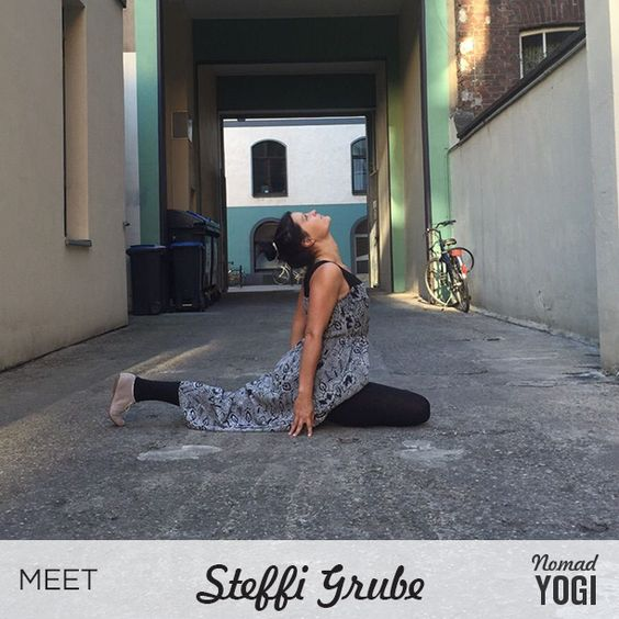 Meet #NomadYOGI Steffi Grube, a Jivamukti and Vinyasa yoga instructor at Vishnu's Couch in Cologne, Germany. With an interest in old healing methods, Steffi has studied and learned thai yoga massage under Krishnataki at Sunshine House in Greece. Her passions outside of yoga include traveling, learning languages and writing. Learn more about Steffi Grube and her upcoming 'Love, Bend, Breathe' retreat in Mallorca, Spain at www.NomadYOGI.com