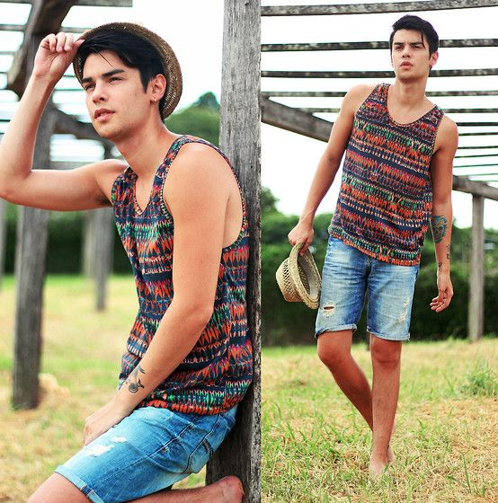 Haas Young Wear Tank Top #fashion #mensfashion #menswear #mensstyle #streetstyle #style #outfit #ootd