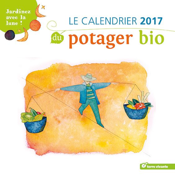 calendrier mural du potager bio jardin pinterest murals and livres. Black Bedroom Furniture Sets. Home Design Ideas