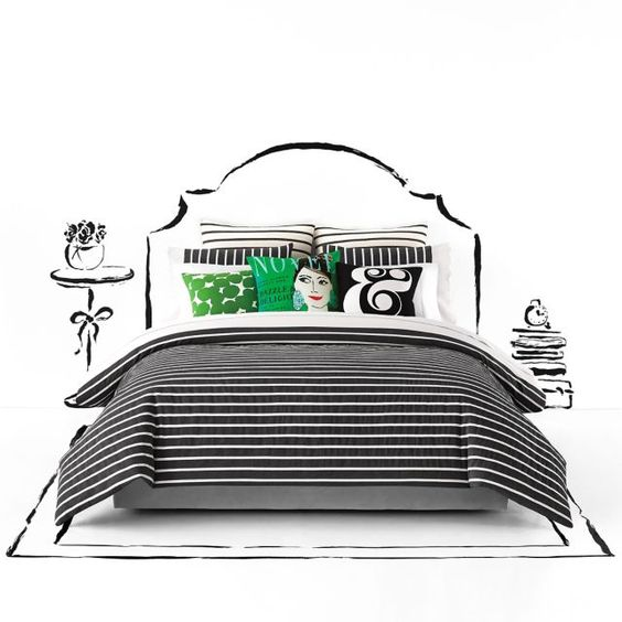 Kate spade bedding kate spade and bed bath on pinterest for Bed bath and beyond kate spade