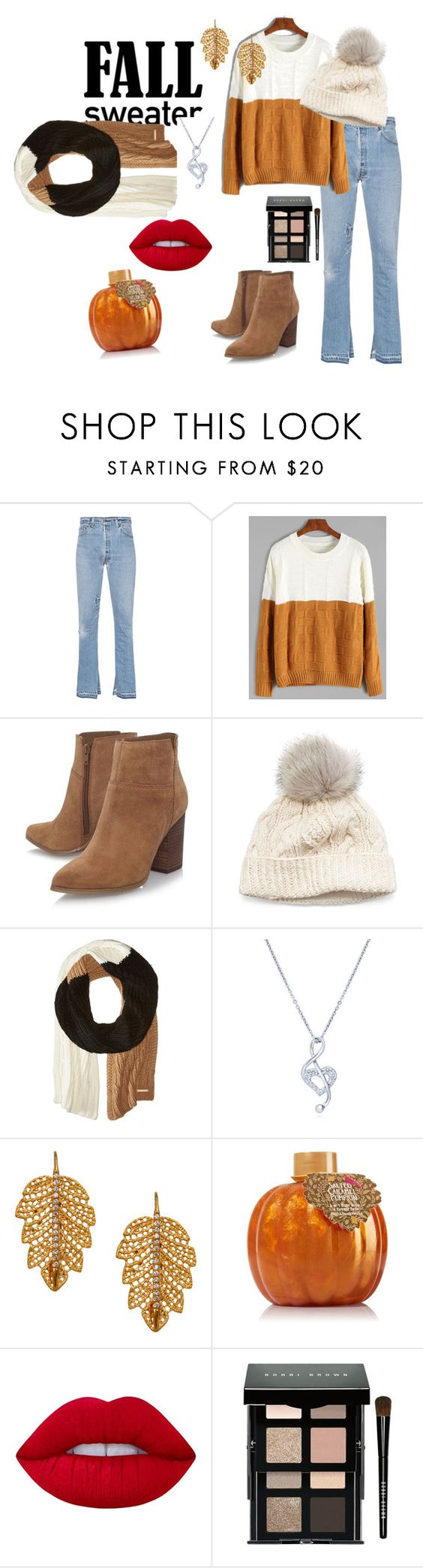 """""""sweaters are better"""" by grizzlygril ❤ liked on Polyvore featuring RE/DONE, Nine West, SIJJL, MICHAEL Michael Kors, BERRICLE, Marika, Lime Crime and Bobbi Brown Cosmetics"""