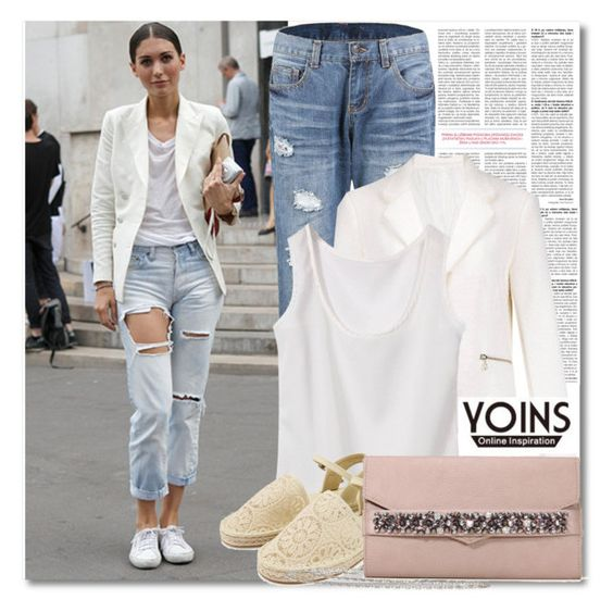 """""""Street Style with YOINS"""" by fattie-zara ❤ liked on Polyvore featuring yoinscollection"""