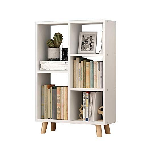 Zhirong Multi Layer Bookshelf Bookcase Storage Shelf Display Stand Living Room Bedroom Furniture Simple Bookshelf Wood Bookshelves Solid Wood Storage
