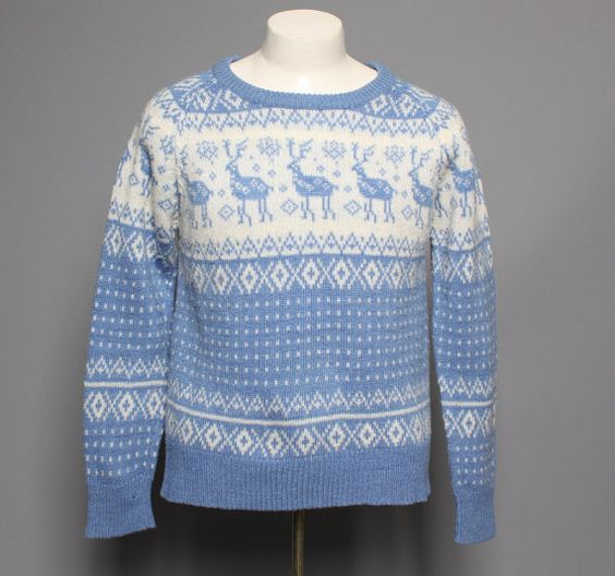 Vintage 80s Ugly CHRISTMAS SWEATER / Glittery Skiing Teddy BEARS ...