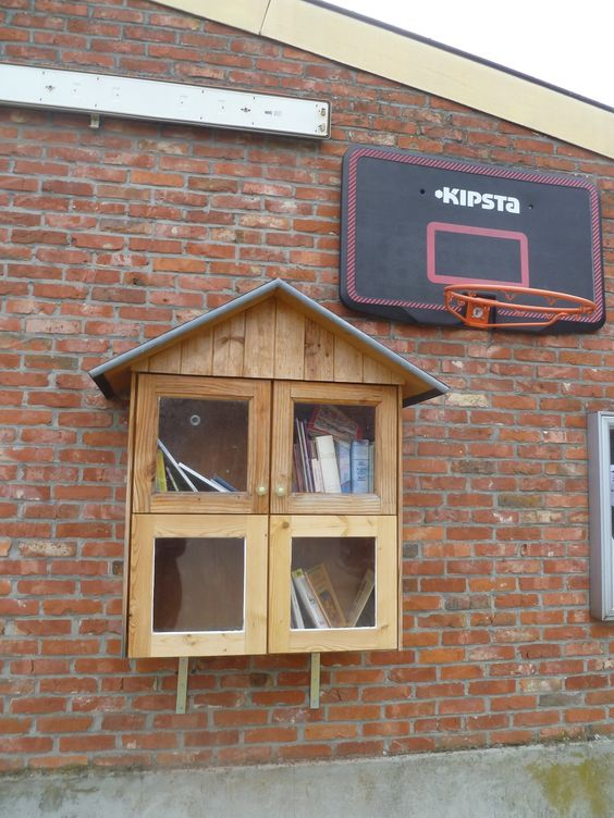 Boekenruilkast Holsbeek
