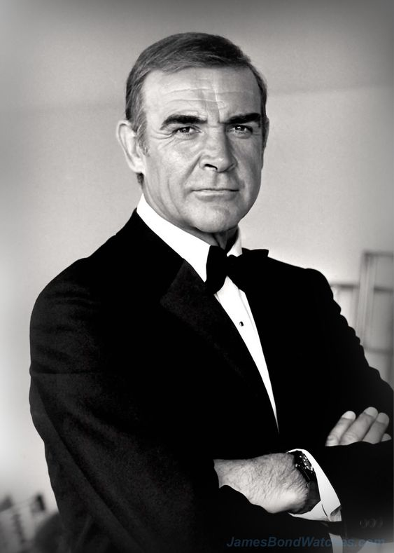 Sean Connery... he will always be the real James Bond...