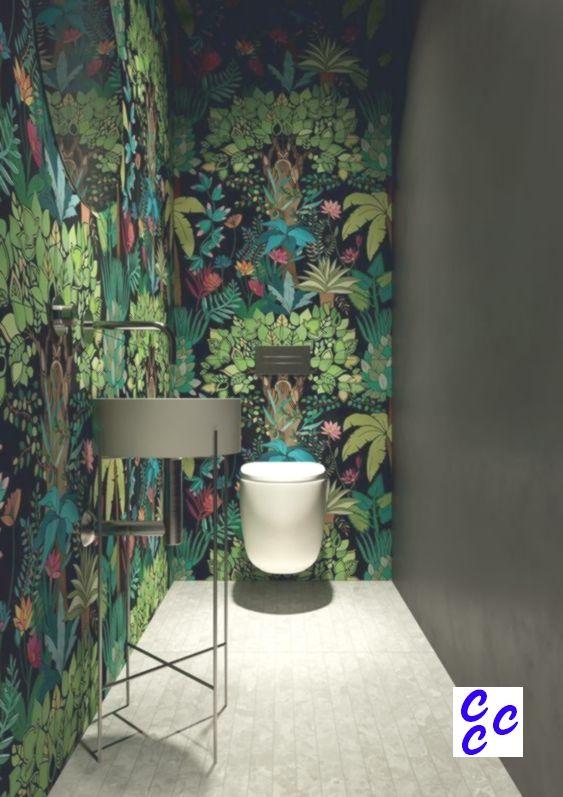 Siehe Meine Eigene Arbeit Auf Www Kimberlykrall In 2020 Badezimmer Tapete Dschungel Tapete Badezimmer Einrichtung