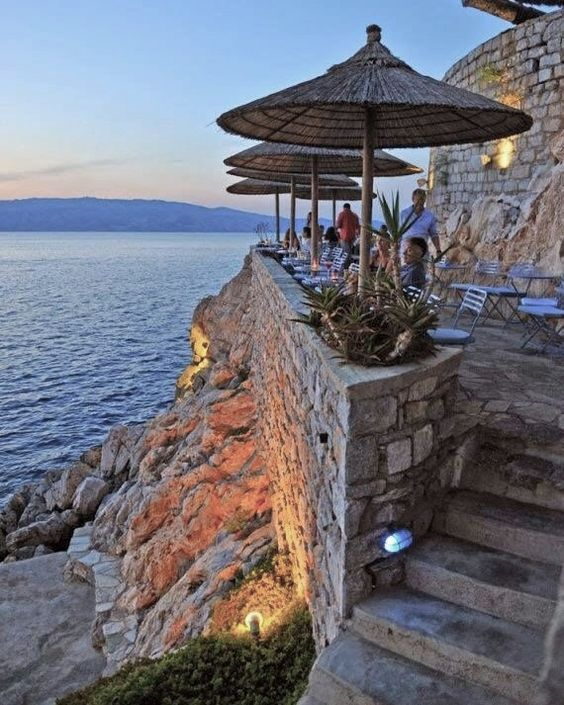 Hydronetta Bar, Hydra island, Saronic gulf, Greece | Visiting greece, Most  romantic places, Romantic places