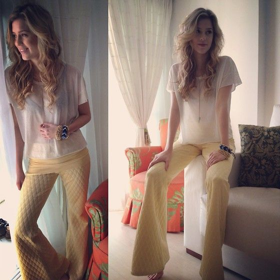 All Yellow (by Sophia Abrahão) http://lookbook.nu/look/4127974-All-Yellow