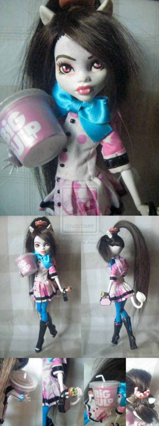 Eva G.Duan- Fakie Monster High Custom by Kiddysa-NekoVamp on deviantART