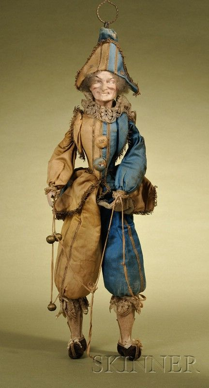 Hanging Polichinelle Doll | Sale Number 2476, Lot Number 114 | Skinner Auctioneers: