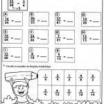 atividades de matematica para 4 ano fracoes