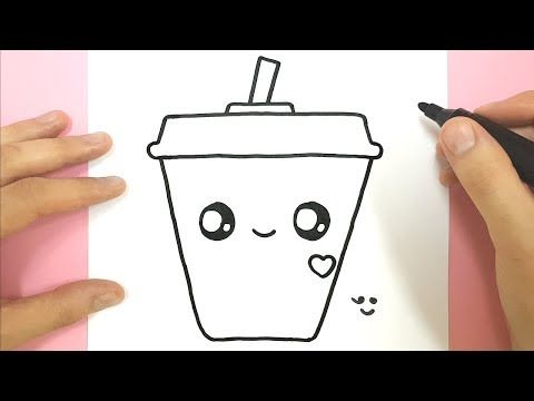 Comment Dessiner Une Boisson Fraiche Super Kawaii Tuto Dessin Youtube Dessin Kawaii Glace Comment Dessiner Dessin Cadeau