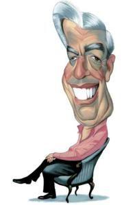 Caricatura Mario Vargas Llosa