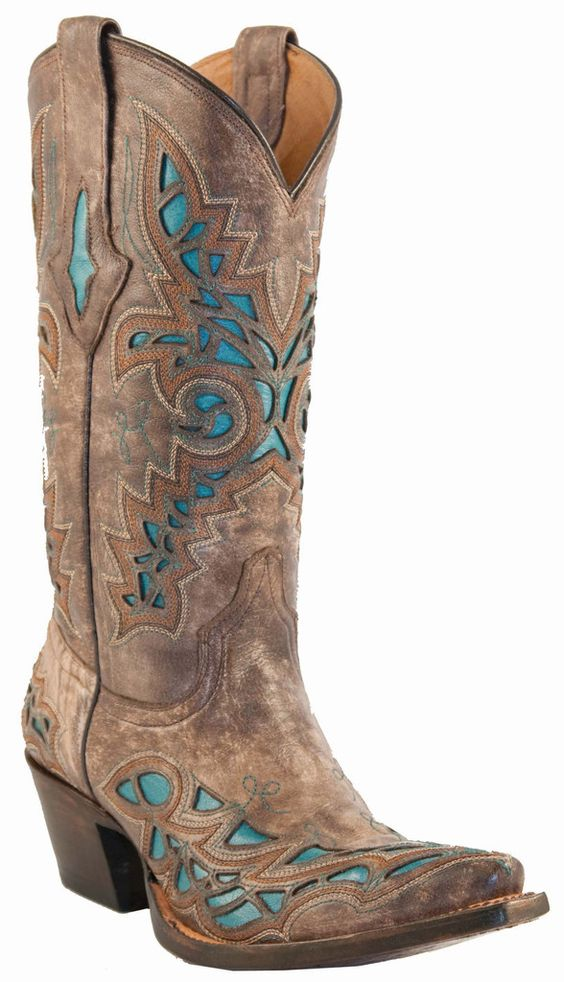 lucchese boots with turquoise inlays i need