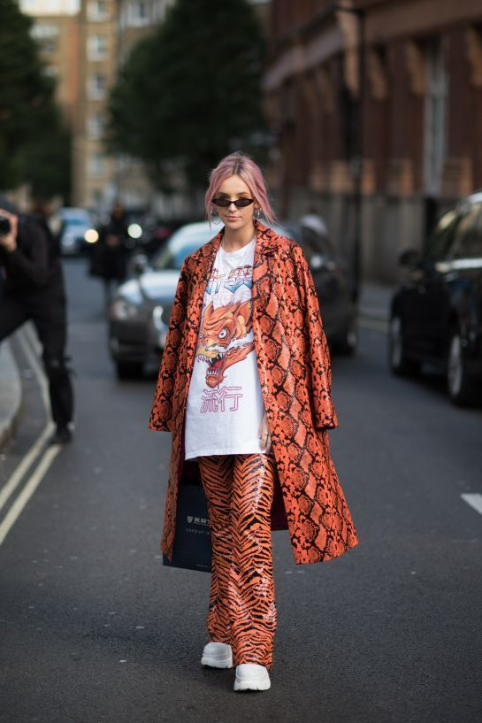 London Fashion Week Spring Summer 2019 Street Style #streetstyle #fashionweek #fashion #style