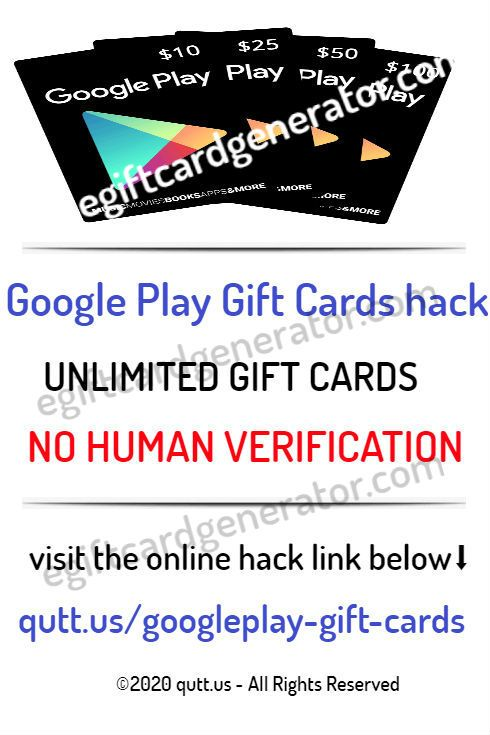 free google play gift card codes no human verification