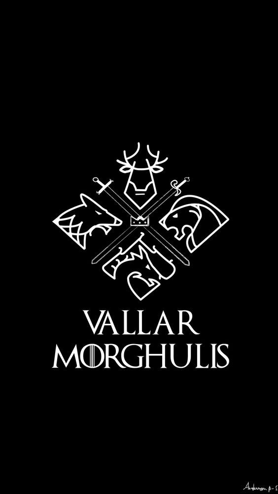 Game of thrones, Vallar Morghulis