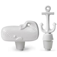 Jonathan Adler Moby Dick Bottlestoppers Set >> These are so cute! What a great gift!