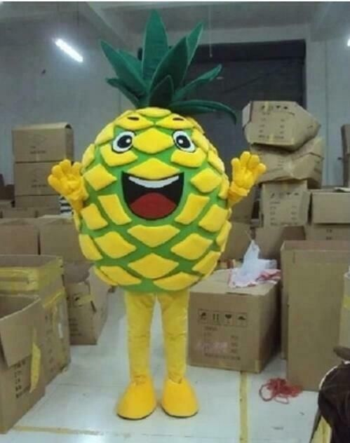 Pineapple Mascot Costume Cosplay Adult size Advertising Party Fancy Dress Outfit
