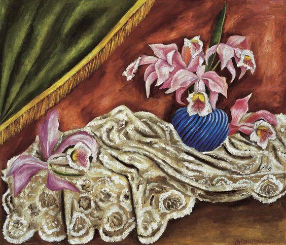 María Izquierdo, Orquídeas,1944