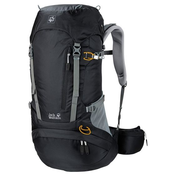 Jack Wolfskin ACS Hike Pack Rucksack, Black, 38 L ** Hurry! Check out this great item : Outdoor backpacks
