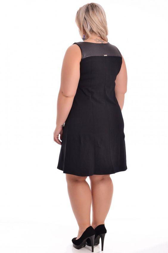 Vestido Neo Night - VK Moda Plus Size | Moda Feminina