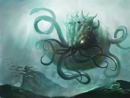 According to the Scandinavian mythology, the Kraken is a giant sea creature (said to be 1 mile long) that attacks ships and is so huge that its body could be mistaken for an island. It is first mentioned in the Örvar-Oddr, a 13th century Icelandic saga involving two sea monsters, the Hafgufa (sea mist) and the Lyngbakr (heather-back). The Hafgufa is supposed to be a reference to the Kraken. The existence of the Kraken was even acknowledged in scientific texts, including the first edition of…