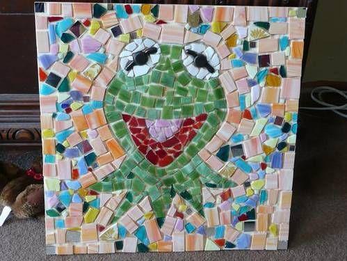 Mosaics + Muppets!