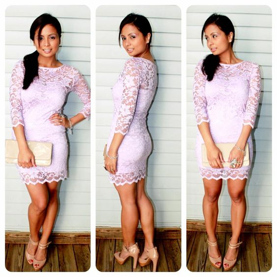 Lilac dress &amp nude heels | You can dress me up | Pinterest | ASOS