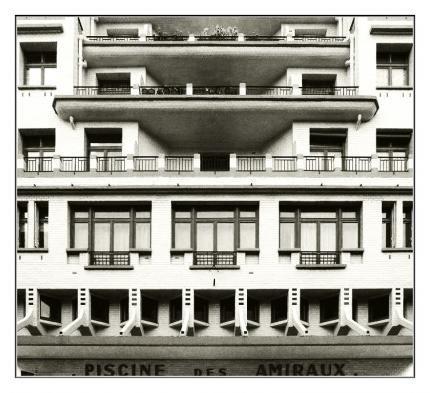 Immeuble et piscine des amiraux housing pinterest for Piscine des amiraux